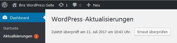 WordPress Wartung & Pflege 2